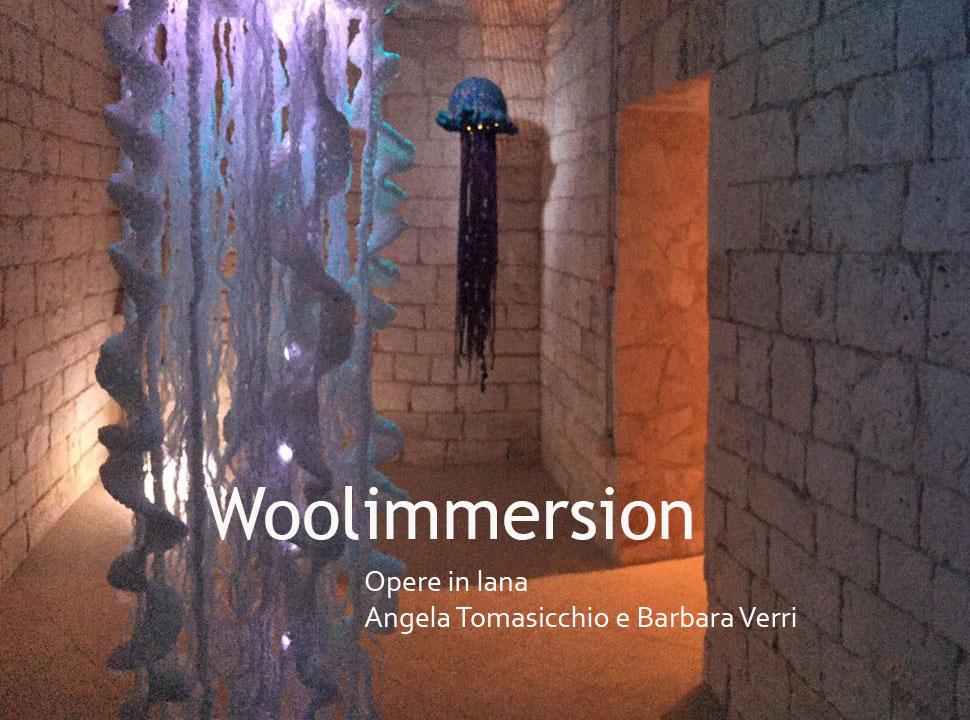 Woolimmersion Mostra Arte Uncinetto